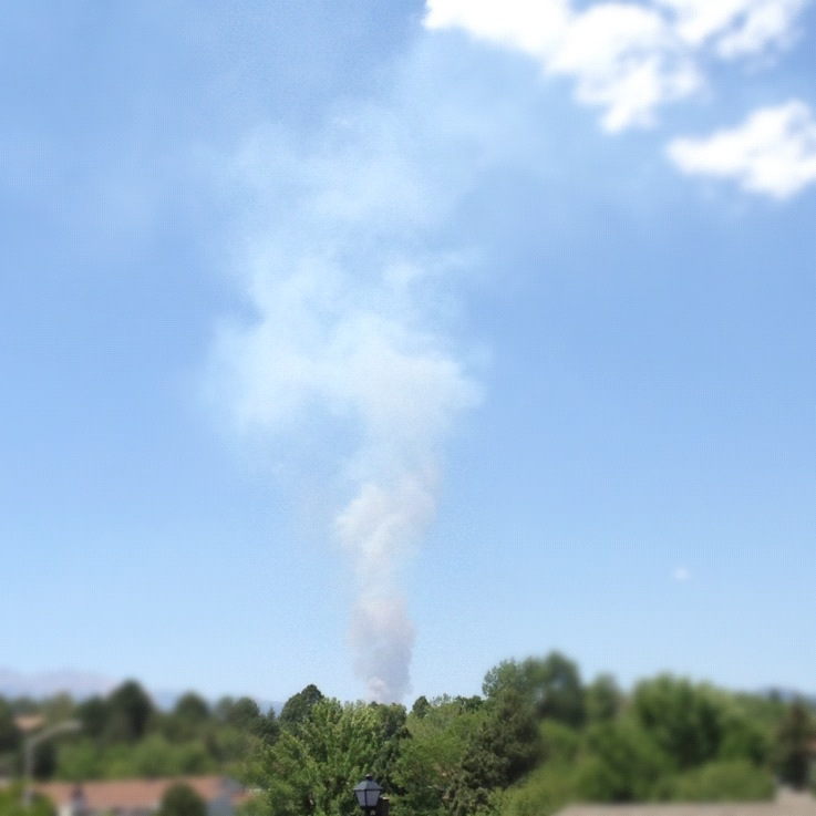 waldo canyon fire starting photo
